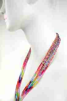 "Braided Lanyard 17"" Clipstrip Assortment"
