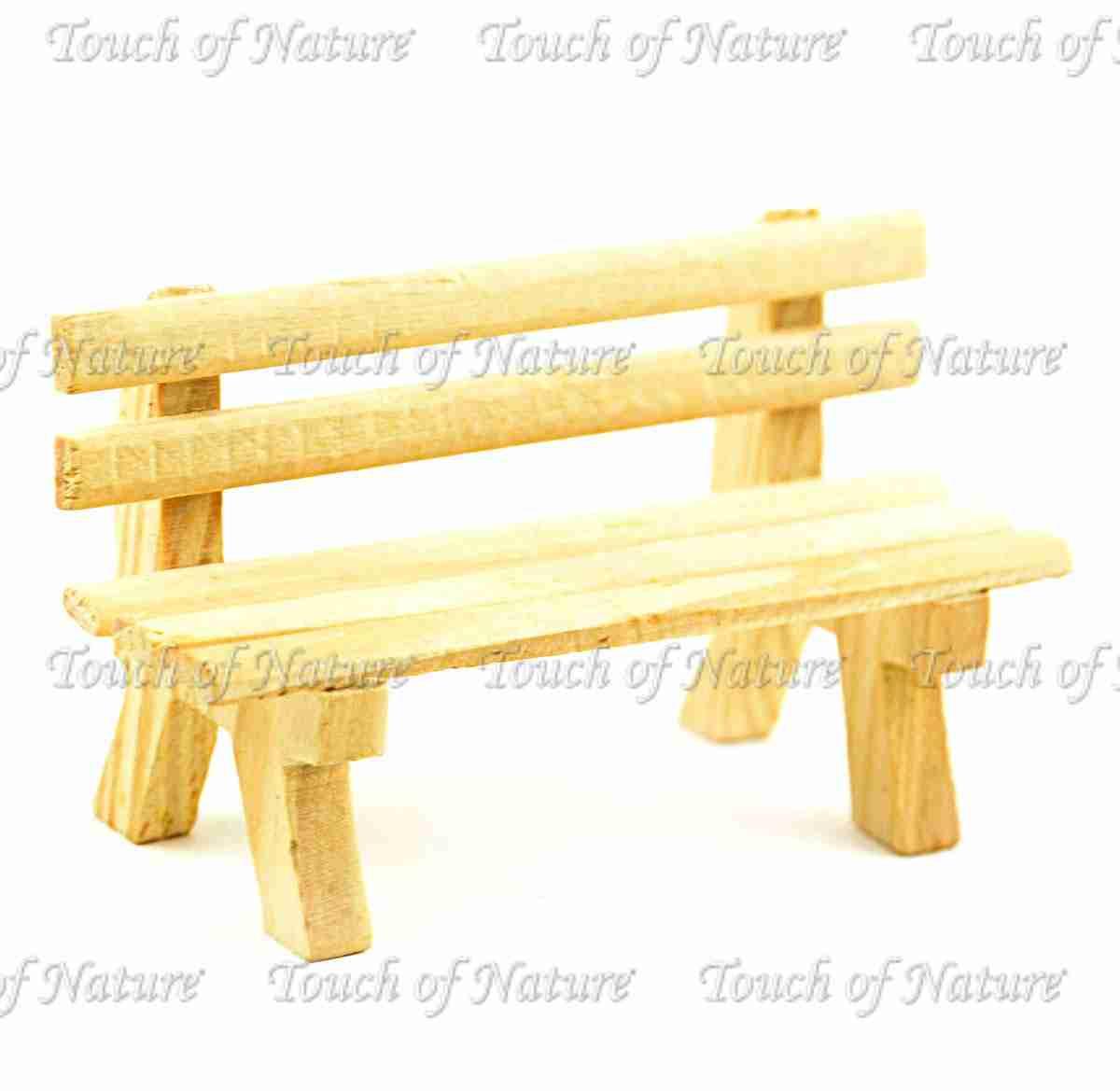 Amazing Miniature Garden Wood Park Bench 3 5 1Pc Camellatalisay Diy Chair Ideas Camellatalisaycom